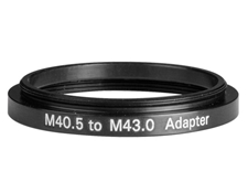 M40.5 to M43.0 Step-Up Adapter, #36-003